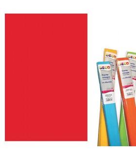 Carta Crespa CWR gr.40  colore Rosso Natale Rotolo Cm.50x250