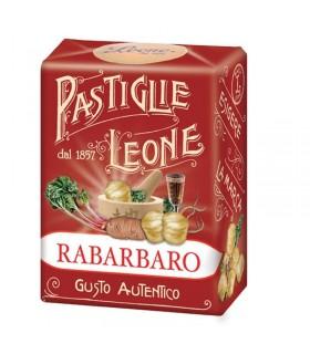 PASTIGLIE LEONE RABARBARO IN SCATOLETTA DA 30G CONF. 18 PZ.