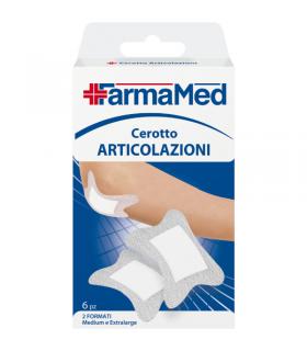 Cerotti Fermamed per Articolazioni 2 Formati Medium e Extra Large 6 pz.