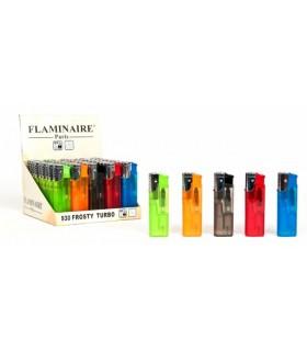 Accendino Flaminaire Turbo trasparente conf. da 50 pz.