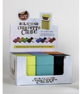Portapacchetto Flaminaire in Silicone colorato Expo da 24 pz. colori assortiti