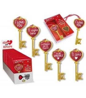 Chiave dell'Amore misura 9x14 cm