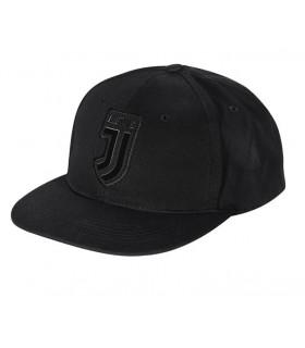 Cappello Baseball FC Juventus in Velluto colore nero