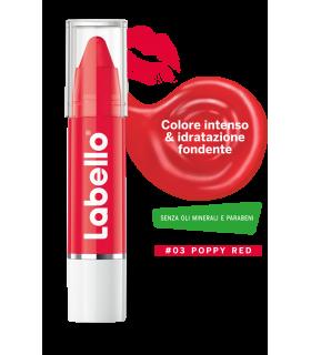 Stick Labbra Labello Crayon Poppy Red