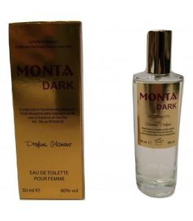 Profumo Glamour Ispirato a Montale Dark da 50 ml