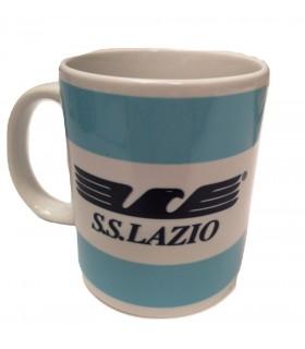 Tazza SS Lazio in Ceramica con Aquila Stilizzata