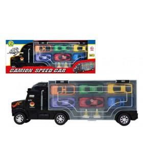 Camion Speed Car con 6 Auto Mazzeo Giochi