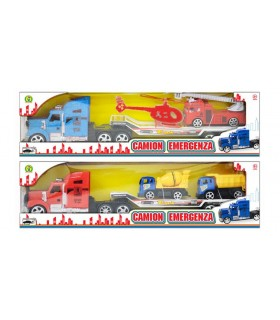 Camion con Rimorchio e Mezzi Mazzeo Giochi
