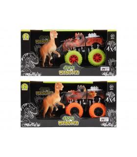 Monster 4x4 con Dinosauro e Frizione Mazzeo Giochi