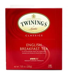 TWININGS ENGLISH BREAKFAST TEA CONF. DA 100 PZ.