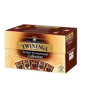Tè Twinings Collection Neri Aromatizzati conf. da 20 bustine