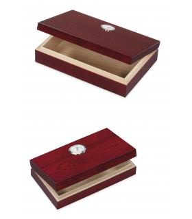 Umidificatore per Sigari in Legno Dal Negro colore Marrone