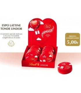 LATTINE TONDE LINDOR LINDT 55g. EXPO DA 12 PZ.