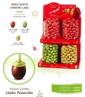 EXPO OVETTI LINDOR LINDT 3.5 KG