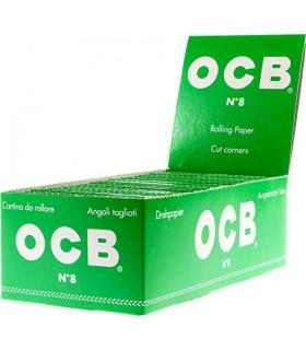 Cartina OCB corta Verde conf. 50 libretti da 50 cartine