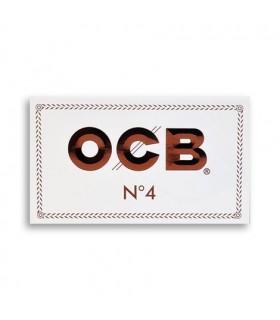 Cartina OCB Bianca corta doppia conf. 25 libretti da 100 cartine