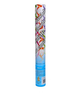 Tubo Spara Coriandoli H.40 cm