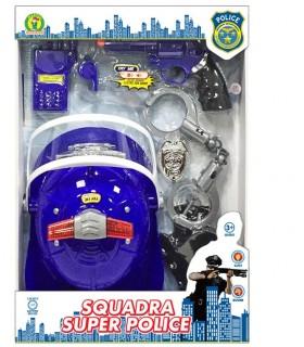 Cartella Squadra Super Police Mazzeo Giochi