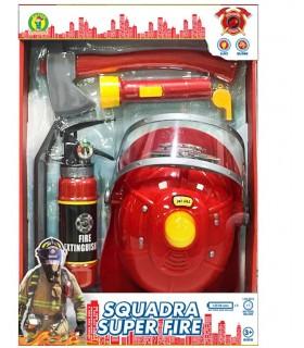 Cartella Squadra Super Pompiere Mazzeo Giochi