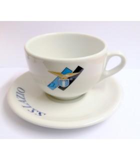 Tazza con Piattino SS Lazio in Ceramica
