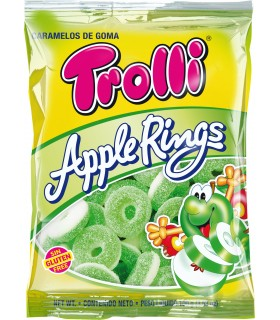 TROLLI APPLE RINGS BUSTINA DA 100 G