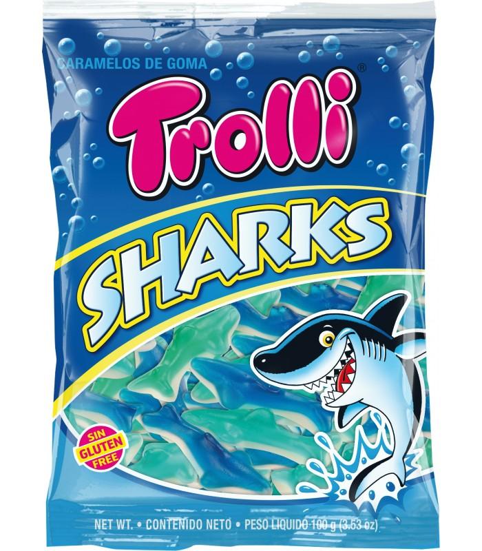 TROLLI SHARKS BUSTINA DA 100 G