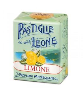 PASTIGLIE LEONE GUSTO LIMONE IN SCATOLETTA DA 30G CONF. 18 PZ.