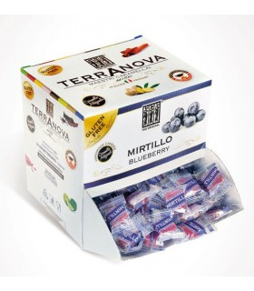 CARAMELLE TERRANOVA AL MIRTILLO DISPENSER 1 KG (250 PZ.)