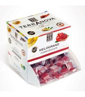 CARAMELLE TERRANOVA AL MELOGRANO  DISPENSER 1 KG (250 PZ.)