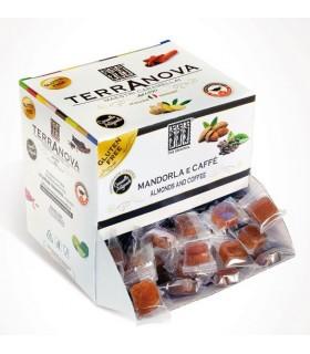 CARAMELLE  TERRANOVA ALLE MANDORLE E CAFFE' DISPENSER 1 KG (250 PZ.)