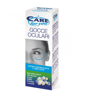 Gocce Oculari Care for You Idratanti e Rifnrescanti da 15 ml