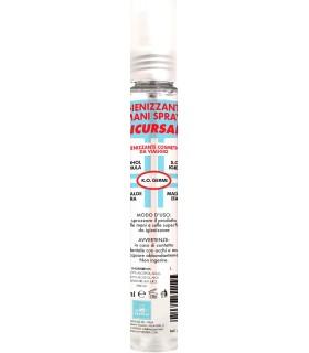 Igienizzante Mani Spray Pretty Clean con 70% Alcol da 75ml cartone da 40 pz. SOLO PRENOTAZIONE - IN ARRIVO LUNEDI' 30 MARZO