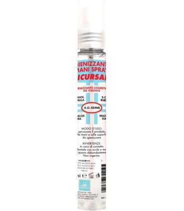 Igienizzante Mani Spray Pretty Clean con 70% Alcol da 75ml cartone da 24 pz.