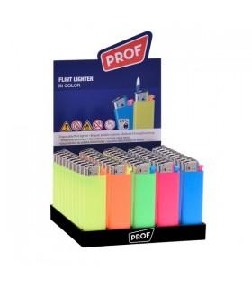 Accendino Elettronico Prof color conf. 50 pz. assortito con 5 colori