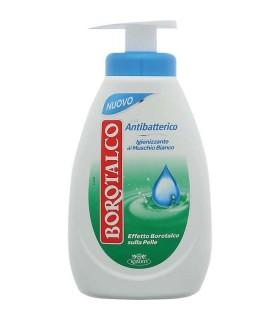 Sapone Liquido con Antibatterico Borotalco 250ml al muschio bianco