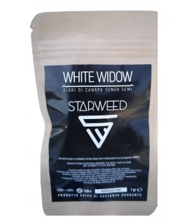 Infiorescenza di Cannabis Light STARWEED WHITE WIDOW bustina da 1gr