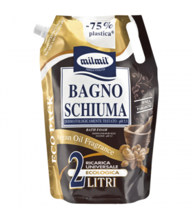 Bagno Schiuma Mil Mil Olio di Argan  Busta  2 Litri