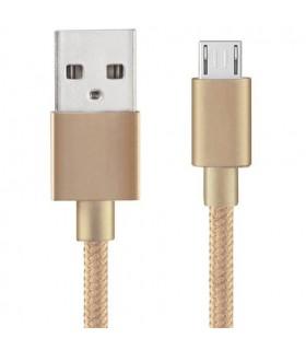 Cavo Micro USB Lilli Godl Nylon 1MT