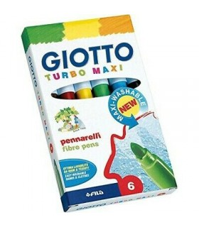 Pennarelli Giotto Turbo color da 6 pz.