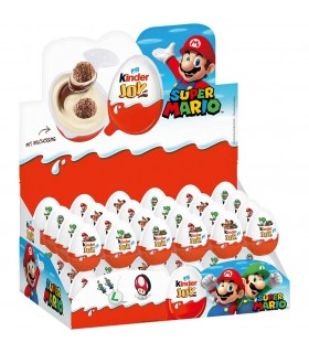 KINDER JOY CON SORPRESA SUPER MARIO EXPO 72 PZ.