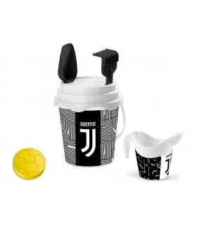 Secchiello Diam.17 + Accessori da Spiaggia F.C. Juventus