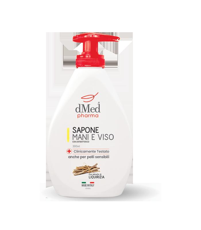 Sapone Liquido Mani e Viso dMEd Pharma Con Antibatterico 300 ml
