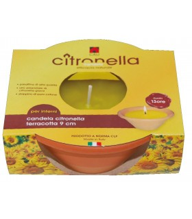 Candela alla Citronella  Durata 4 Ore