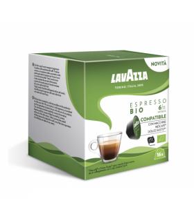 Capsule Lavazza Espresso Bio Compatibile Nescafè Dolce Gusto conf.  da 16 Capsule