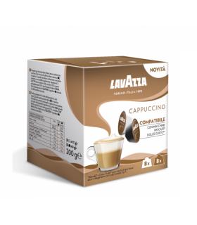 Capsule Lavazza Espresso Cappuccino Compatibile Nescafè Dolce Gusto conf.  da 16 Capsule