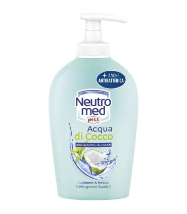 Sapone Liquido Neutromed  Acqua di Cocco con Azione Antibatterica 300ml