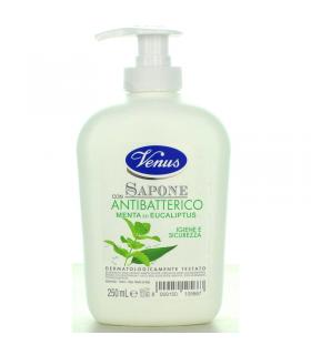 Sapone Liquido Venus con Antibatteri Menta ed Eucaliptus 250ml