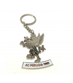 Portachiavi in Metallo Logo A.C. Perugia