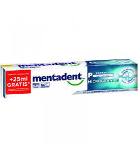 Dentifricio Mentadent Microgranuli Formula Delicata 100mlMentadent