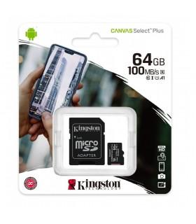 Micro SD Kingston da 4GB + Adattatore SD